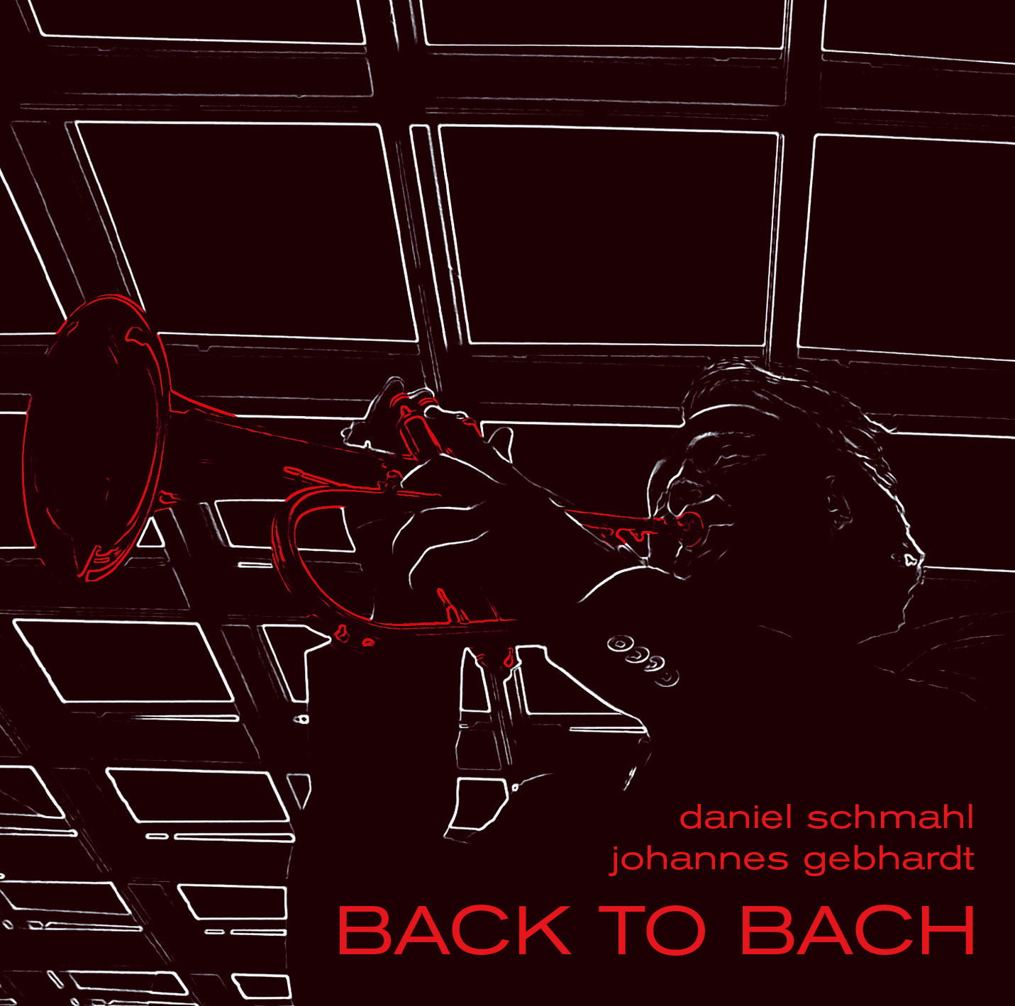 BACK TO BACH CD Cover front