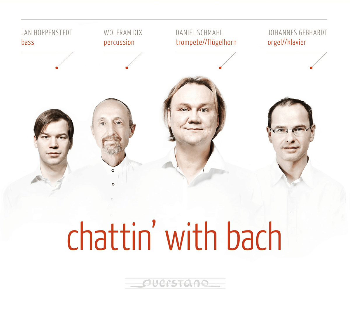 chattin' with bach CD Cover front